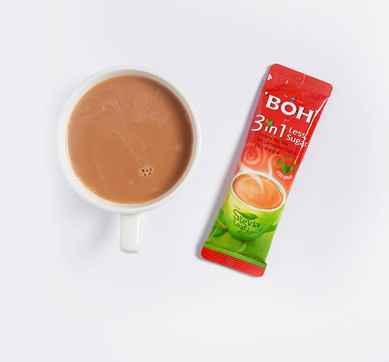 BOH 3 in 1 Tea Mix Less Sugar