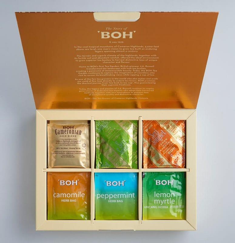 BOH Assorted Tea Set
