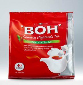 BOH Tea Pot Bags