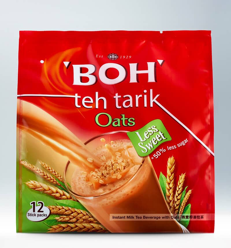 BOH Teh Tarik Oats