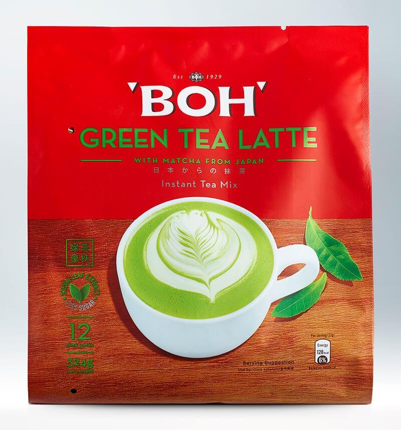 BOH Green Tea Latte Instant Tea Mix