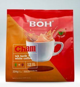 BOH Cham & Teh Tarik Mix 12 Sticks