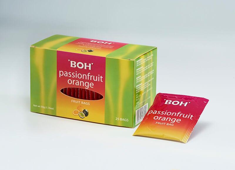 BOH Passionfruit Orange Fruit Bags