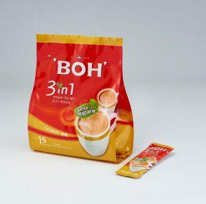 BOH 3 in 1 Instant Tea Mix Caramel