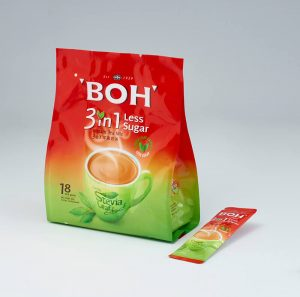 BOH 3 in 1 Instant Tea Mix Less Sugar