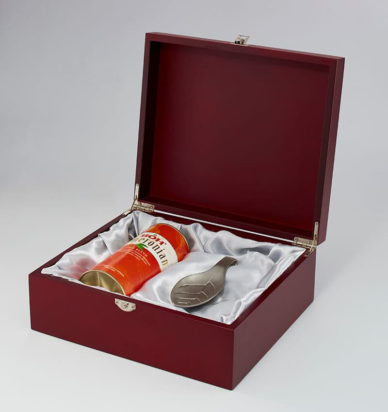 BOH Pewter Tea Scoop Gift Set