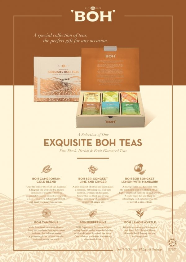 Best Selections of BOH Teas
