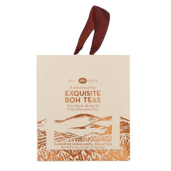 BOH Exquisite Teas 12 Sachets