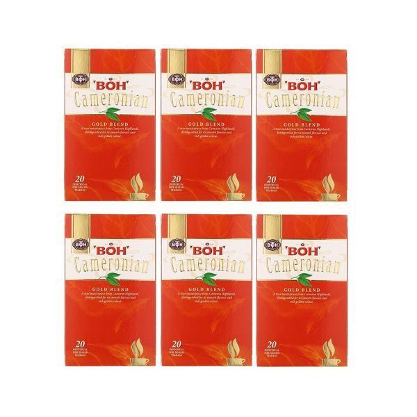 BOH Cameronian Gold Tea 20s x 6 boxes