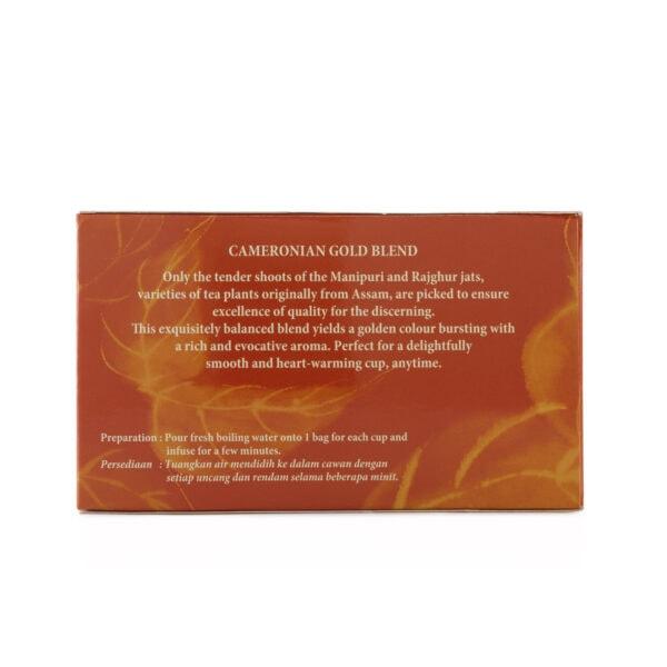 BOH Cameronian Gold Blend 60 Teabag Sachet