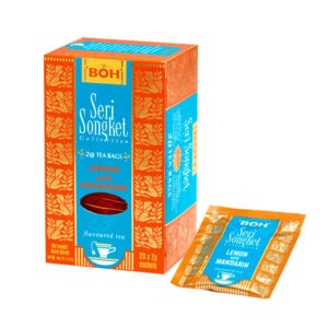 BOH Seri Songket Lemon Mandarin flavored black tea