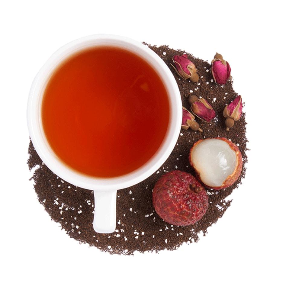 BOH Lychee Rose flavored black tea