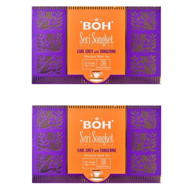 BOH Earl Grey with Tangerine flavored black tea