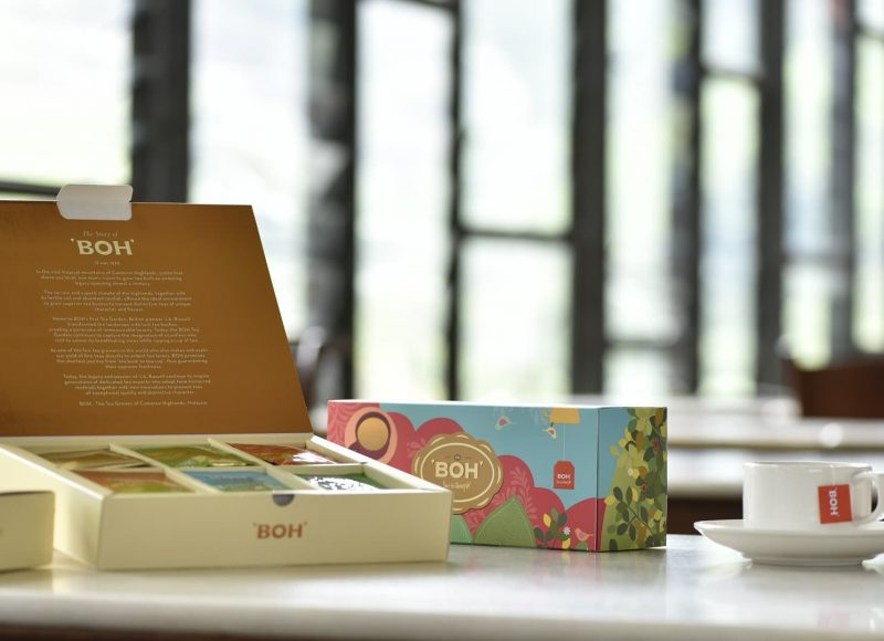 BOH Tea gift set